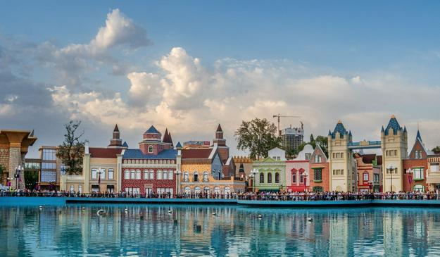 «Нойшванштайн» на «Комсомольском озере»